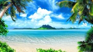 Warm Seas HD Screensaver Image 1